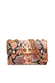 Embossed Gemini Link Shoulder Bag by Tory Burch Accessories