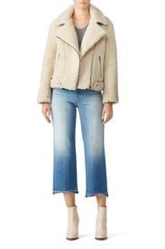 Faux Shearling Brooklyn Jacket by ASTR
