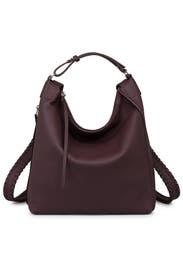 Burgundy Kita Backpack by AllSaints