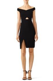 Black Rory Dress by Parker