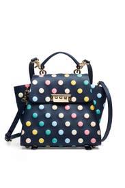 Polka Dot Eartha Top Handle Convertible Backpack by ZAC Zac Posen Handbags