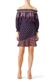 Abstract Grace Dress by SALONI