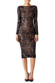 Black Emery Dress by Dress The Population