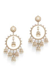Lucky Star Chandelier Earrings by Marchesa Jewelry