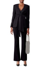 Spencer Tie Front Tuxedo Jacket by Osman