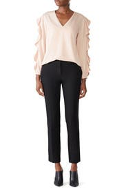 Bianca Ruffle Edge Top by RACHEL ROY COLLECTION