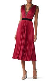 Lace Trim Milly Dress by CATHERINE DEANE