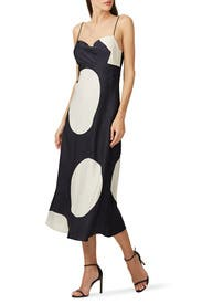 Sectional Midi Dress by C/MEO COLLECTIVE