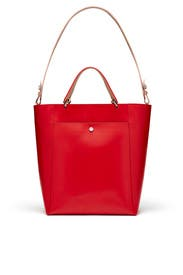 Red Eloise Tote by Elizabeth and James Accessories