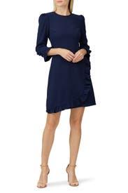 Navy Mariana Dress by Shoshanna