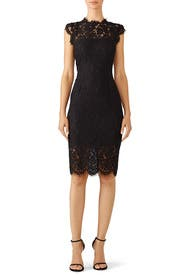 Black Suzette Dress by Rachel Zoe