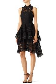 Black Star Crossed Dress by Keepsake