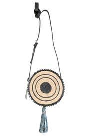 Straw Circle Crossbody by Rebecca Minkoff Accessories