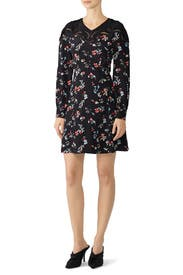 Floral Clusters Nyla Dress by Tanya Taylor