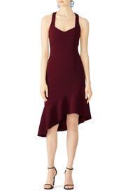 Burgundy Artemis Dress by ELLIATT