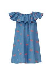 Kids Cherry Chambray Dress by Stella McCartney Kids