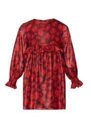 Kids Red Cheetah Dress by Little Marc Jacobs