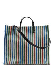 Garden Stripe Simple Tote by Clare V.