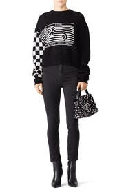 Checkerboard Sweater by Proenza Schouler White Label