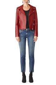 Just Ride Vegan Leather Jacket by BB Dakota