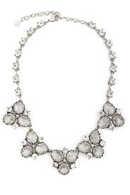 Crystal Cluster Necklace by Badgley Mischka Jewelry