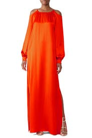 Cut Out Shoulder Gown by Rosetta Getty