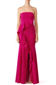 Fuchsia Torres Gown by Jay Godfrey