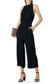 Ruffle Neck Jumpsuit by Chelsea28