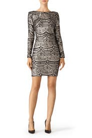 Sequin Lola Sheath by Dress The Population