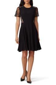 Laced Georgette Dress by Jason Wu Collective