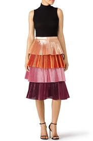 Pink Lauren Skirt by DELFI Collective
