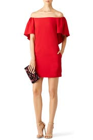 Red Zeal Dress by Trina Turk