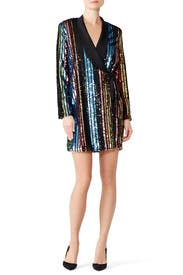 Sequin Charlize Blazer Dress by RAGA