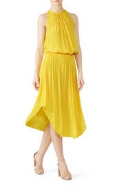 Yellow Audrey Dress by Ramy Brook