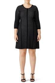 Contrast Dot Mesh Dress by Rachel Rachel Roy