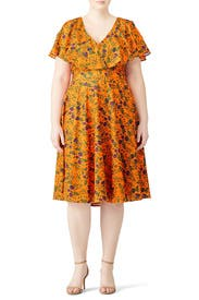 Floral Wren Dress by Jay Godfrey