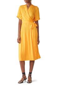 Mango Wrap Dress by Scotch & Soda