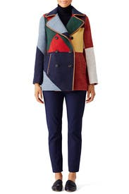 Cheval Peacoat by Tory Burch