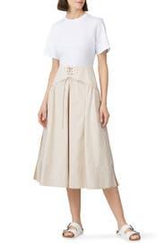 Corset Skirt T-Shirt Dress by 3.1 Phillip Lim