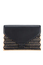 Woven Lock Clutch by Loeffler Randall