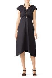 Black Grommet Dress by Derek Lam 10 Crosby