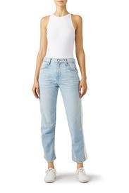 Colorblock Ace Jeans by Joie
