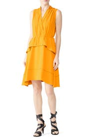 Saffron Tiered Dress by Derek Lam 10 Crosby