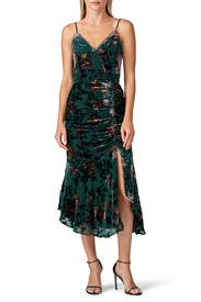 Velvet High Low Dress by Harlyn
