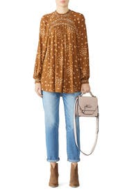 Flowers In Her Hair Tunic by Free People