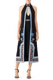 Floral Mix Dress by Temperley London