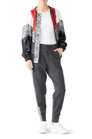 Tuxedo Stripe Sweatpants by Derek Lam 10 Crosby