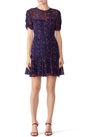 Falling Floral Carti Dress by Tanya Taylor