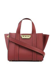 Red Eartha Iconic Shopper by ZAC Zac Posen Handbags
