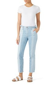 Isabella Paneled Jeans by AG